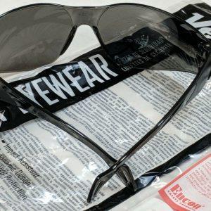 ENCON Safety Glasses-Gray Frame & Lens Back