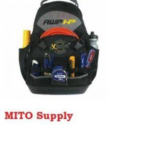 AWP HP Heavy Duty 17″ Zippered Backpack