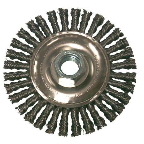 Stringer Bead 4″ X 5/8-11- Steel Wire Brush - Industrial Supply in Alabaster AL