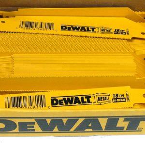 Dewalt 6″ X 18 TPI Bi-metal Reciprocating Saw Blades - Indistrial Supplies in Alabaster Alabama