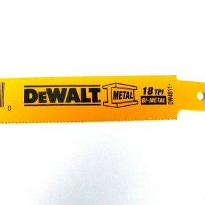 Dewalt 6″ X 18 TPI Bi-metal Reciprocating Saw Blades - Indistrial Supplies in Alabama