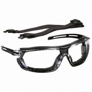 Uvex Tirade™ Sealed Eyewear- Clear Lens - Safety and Industrial Supply in Alabaster Alabama