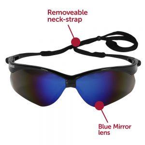 Nemises Blue safety glasses-Alabaster,AL