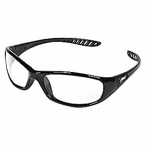 Hellraiser Scratch-Resistant Safety Glasses , Clear Lens- 20539 - Satefy Supply in Alabama