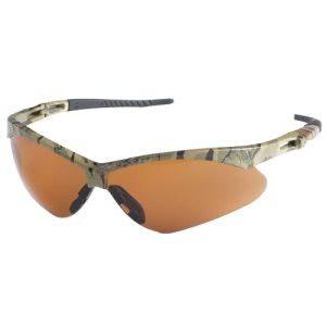 Nemesis Safety Glasses Camo Frame, Bronze Lens - Safety Supply in Alabaster AL