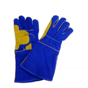 Welding Gloves- Reinforced Thumb Double Palm Leather - Welding Supply in Alabaster AL