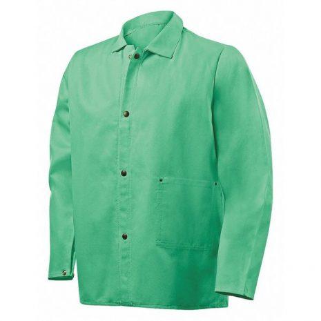 Steiner 30″ Jacket, Weldlite 9.5-Ounce Flame Retardant- Green - Safety and Industrial Supply in Alabaster Alabama