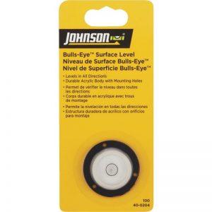 Johnson Level Bull's-Eye Surface Level- 40-0204