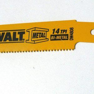 Dewalt 6″ X 14 TPI Bi-metal Reciprocating Saw Blades - Indistrial Supplies in Alabama