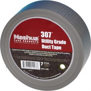 Nashua 307 Silver Duct Tape- 2″ X 60 YD- Made in USA