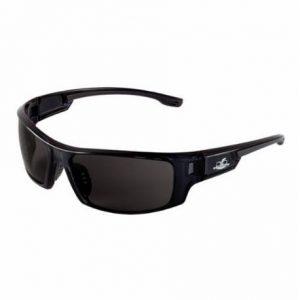 Bullhead Dorado BALLISTIC RATED Safety Glasses Black Frame/Smoke Lens