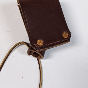 H.D. IRON Worker Sleever Bar Laced Leather Holder
